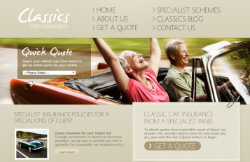 Classics Car Insurance